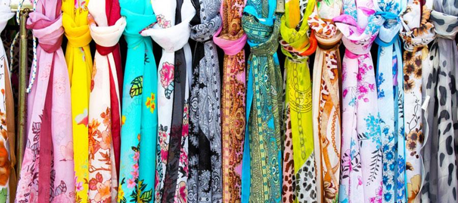 Choisir une écharpe ou un foulard en soie